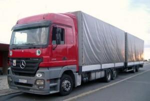 Camión carpa